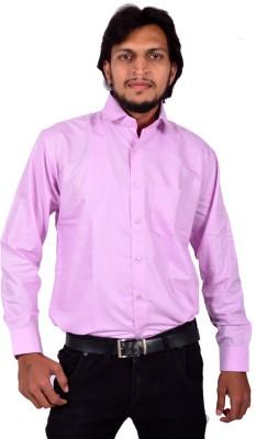PLEZER Men,s Solid Casual Shirt