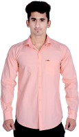 Vape Formal Shirts (Men's) - Vape Men's Solid Formal Pink Shirt