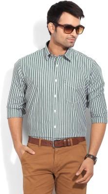 Van Heusen Sport Men's Striped Casual Green, White Shirt