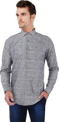 Karsci Men's Woven Lounge Wear Grey Shirt