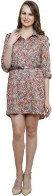 Vastrasutra Women's Graphic Print Formal Multicolor Shirt