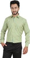 Hippoolife Formal Shirts (Men's) - Hippoolife Men's Checkered Formal Multicolor Shirt