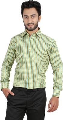 Hippoolife Men's Checkered Formal Multicolor Shirt