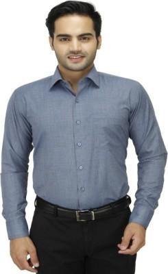 DA VINCI Men's Solid Formal Multicolor Shirt