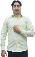 Srjls Formal Shirts (Men's) - Srjls Men's Solid Formal Green Shirt