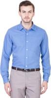 Ocean Trench Formal Shirts (Men's) - Ocean Trench Men's Solid Formal Dark Blue Shirt