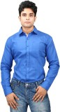 Relish Men's Solid Formal Blue, Light Bl...