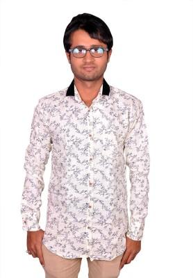 Royal Fashion Men's Floral Print Festive Shirt