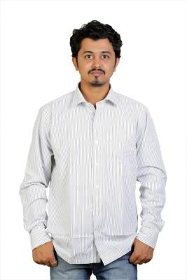 Egoist Men's Woven Formal, Party Grey Shirt