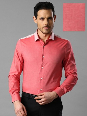 Invictus Men's Solid Casual Red Shirt