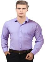 Mesh Formal Shirts (Men's) - Mesh Men's, Boys Solid Formal Purple Shirt