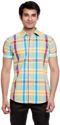 Tog Men's Checkered Casual Multicolor Shirt