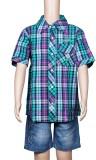 Chutti Pluss Boys Checkered Casual Multi...