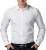 Oshano Men's Solid Casual White, White S...