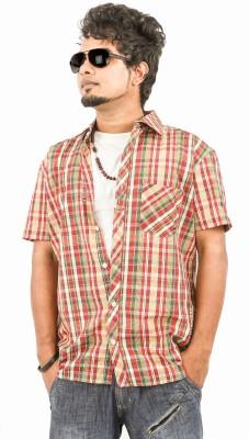 Argyle Men's Checkered Casual Multicolor Shirt