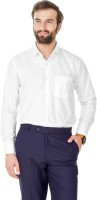 Aarayi Formal Shirts (Men's) - AARAYI Men's Solid Formal White Shirt