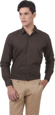 You Forever Men's Solid Casual Green Shirt