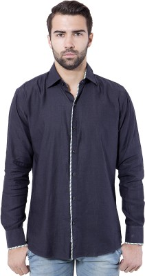 Tag & Trend Men's Solid Casual Grey Shirt