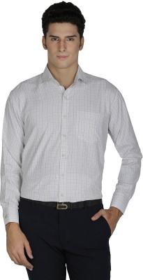 Asher Men's Checkered Formal Shirt