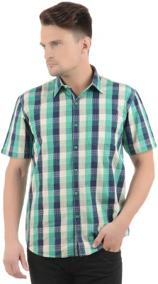 Cairon Men's Checkered Casual Shirt
