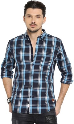 Roadster Men's Checkered Casual Multicolor Shirt