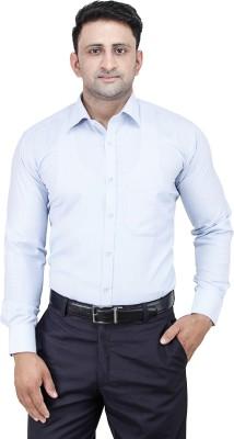 Comfortline Men's Solid Formal Light Blue Shirt
