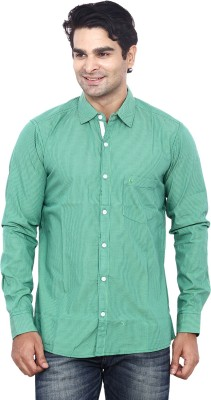 ANDY TRENDZ Men's Checkered Casual Green Shirt