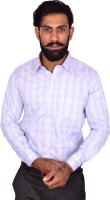 Urban Grandeur Formal Shirts (Men's) - Urban Grandeur Men's Checkered Formal Multicolor Shirt