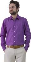 Leebazone Formal Shirts (Men's) - LeebaZone Men's, Boys Solid Formal Purple Shirt