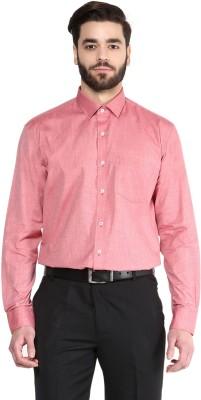 Urban Culture Men's Solid Formal Red Shirt