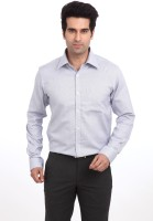 Park Avenue Formal Shirts (Men's) - Park Avenue Men's Solid Formal Blue Shirt