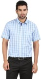 Classic Polo Men's Checkered Formal Whit...