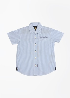 U.S. Polo Assn. Boy's Striped Casual Shirt