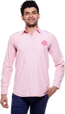 Tog Men's Solid Casual Pink Shirt