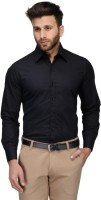 Bf Formal Shirts (Men's) - BF Men's Solid Formal Black Shirt