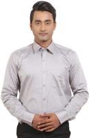 Banika Formal Shirts (Men's) - Banika Men's Solid Formal Grey Shirt