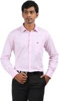 Stoff Formal Shirts (Men's) - Stoff Men's Solid Formal Pink Shirt
