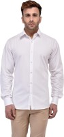 Salwarsaloon Formal Shirts (Men's) - SalwarSaloon Men's Solid Formal White Shirt