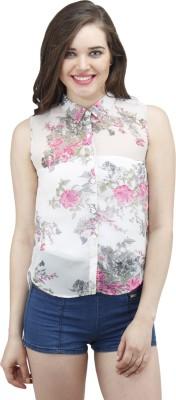 Osumfab Women's Solid Casual Multicolor Shirt