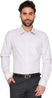 Markrich Formal Shirts (Men's) - MARKRICH Men's Striped Formal Blue Shirt