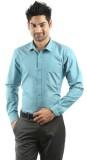 RVC Fashion Men's Solid Casual Light Blu...