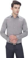 Idealism Formal Shirts (Men's) - Idealism Men's Solid Formal Grey Shirt