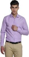 Van Galis Formal Shirts (Men's) - Van Galis Men's Solid Formal Purple Shirt