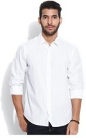 P.r.oswal Formal Shirts (Men's) - P.R.Oswal Men's Solid Formal White Shirt