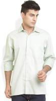 Bay Ridge Formal Shirts (Men's) - Bay Ridge Men's Solid Formal Green Shirt