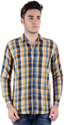 Christy's Collection Men's Checkered Casual Multicolor Shirt