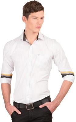 Taurus Men's Striped Casual Multicolor Shirt