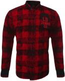 Lumber Boy Boys Printed Party Red Shirt