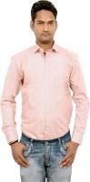 Kaylon Lifestyle Formal Shirts (Men's) - Kaylon Lifestyle Men's Solid Formal Pink Shirt