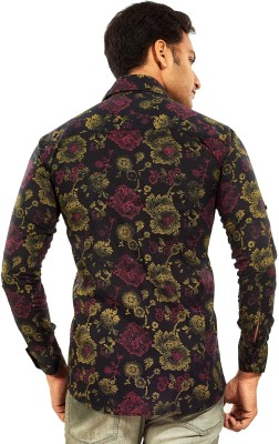 Trinath Men's Printed Casual Multicolor Shirt